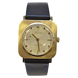 Hamilton Thinline 14K Gold Manual Wind 26mm Unisex Vintage Watch