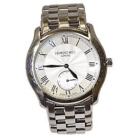 Raymond Weil Tosca 9864 Stainless Steel Silver Dial Quartz 30mm Mens Watch