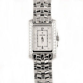 Concord Sportivo Stainless Steel with Mother of Pearl Dial 21.7mm Womens Watch