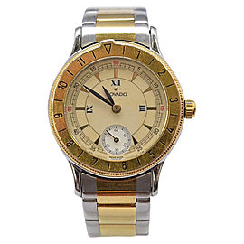 Movado 81-09-811 Stainless Steel & Gold Plated 27.14mm Womens Vintage Watch
