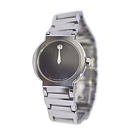 Movado 89.C1.1841 Stainless Steel Black Dial Quartz 26mm Womens Watch