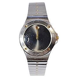 Movado 86 A1 837.2.Two Tone Stainless Steel and Yellow Gold 24mm Womens Watch