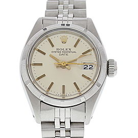 Rolex Date 6919 Stainless Steel Vintage 26 mm Womens Watch