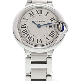 Cartier Ballon Bleu 3009 Stainless Steel 29mm Womens Watch