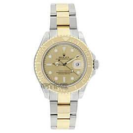 Rolex Yachtmaster 16623 18K Yellow Gold & Stainless Steel 40mm Watch