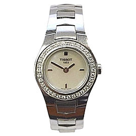 Tissot SKO.HA.101781853 Stainless Steel with Mother of Pearl Dial 23mm Womens Watch