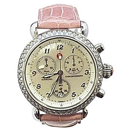 Michele CSX MW03C01 Stainless Steel & Mother of Pearl Dial 36mm Womens Watch