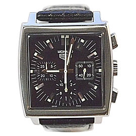 Tag Heuer Monaco CS2111 Stainless Steel Automatic 38mm Mens Watch