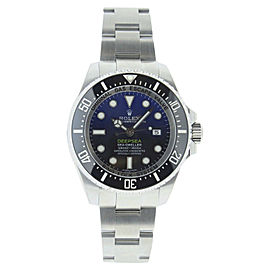 Rolex Sea Dweller 116660 Stainless Steel Deep Sea Blue Dial 44mm Watch