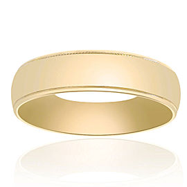 14K Yellow Gold Classic Fit Band Size 11.5