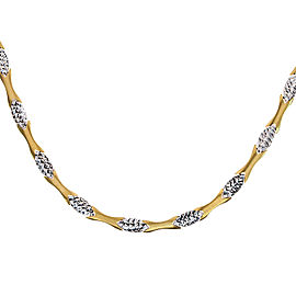 14K Yellow Gold Ellipse Link Chain