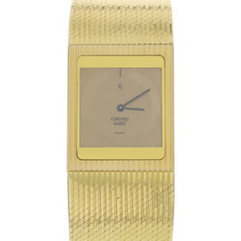 Concord 50.77.615 18K Yellow Gold Quartz Vintage 25mm Womens Watch