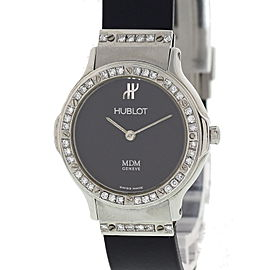 Hublot MDM Depose 1280 Stainless Steel / Rubber 25mm Womens Watch