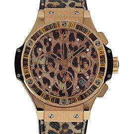 Hublot Big Bang 341.PX.7610.NR.1976 18K Rose Gold 41mm Womens Watch