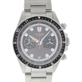 Tudor Heritage 70330N Stainless Steel Grey Dial Automatic 42mm Mens Watch