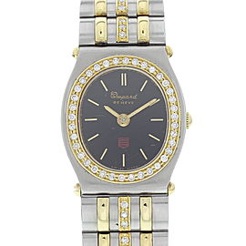 Chopard Monte Carlo 8034 18K Yellow Gold/Stainless Steel Quartz 21mm Womens Watch