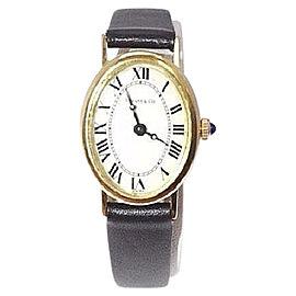 Tiffany & Co. 14K Gold Roman Dial Dress 20mm Womens Vintage Watch
