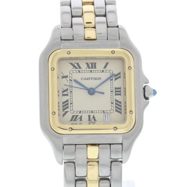 Cartier Panthere 18K Yellow Gold & Stainless Steel Quartz 27mm Unisex Watch