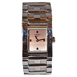 Tissot L840K Stainless Steel Sapphire Crystal Quartz 20mm Womens Wrist Watch