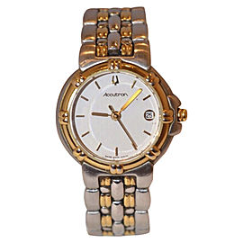 Bulova Accutron 28B26 Stainless Steel Casual 25mm Womens Watch