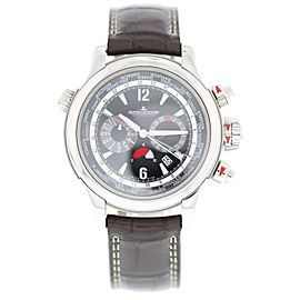 Jaeger-LeCoultre Master Compressor 150.8.22 Stainless Steel & Leather Automatic 46mm Mens Watch
