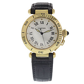 Cartier Pasha 2111 18K Yellow Gold Automatic 38mm Mens Watch