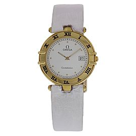 Omega Constellation 196.0.360 18K Yellow Gold 32mm Unisex Watch