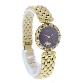 Sarcar Geneve 18K Yellow Gold Diamonds And Rubies Watch
