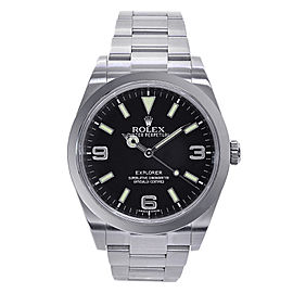 Rolex Explorer 214270 Stainless Steel Automatic 39mm Mens Watch
