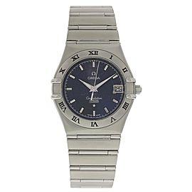 Omega Constellation 396 1202 Stainless Steel Quartz 38mm Mens Watch