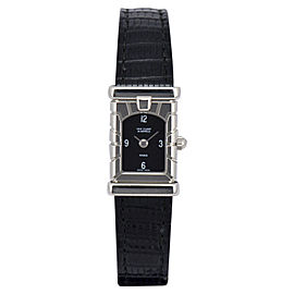 Van Cleef & Arpels Facade 531.963 T5 Stainless Steel / Leather Quartz 14mm Womens Watch