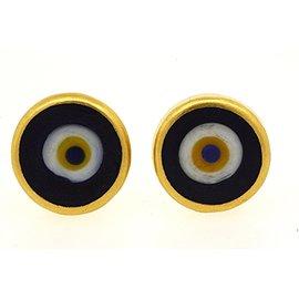 Gurhan 24K Yellow Gold Earrings