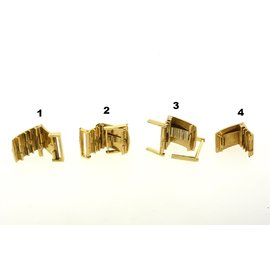 Choice From 4 Patek Philippe 18k Gold Watch Clasp Buckle Only