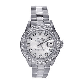 Rolex Datejust 6917 Stainless Steel with Diamonds Automatic 26mm Womens Watch