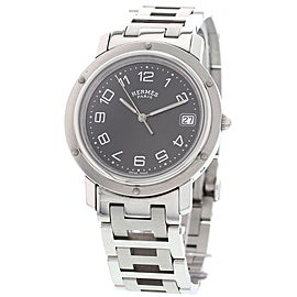 Hermes Clipper CL6.710 Stainless Steel Quartz 36mm Mens Watch