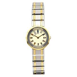 Corum Admirals Cup 24.810.21 V-52 18K Yellow Gold/Stainless Steel Quartz 22.5mm Women's Watch