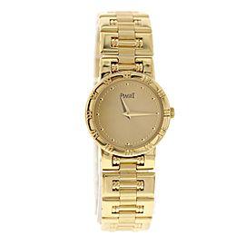 Piaget Dancer 80563 K 81 18K Yellow Gold Quartz 23mm Womens Watch
