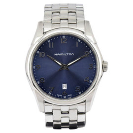 Hamilton Jazzmaster H3851143 Stainless Steel with Blue Dial 42mm Mens Watch