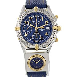 Breitling Chronomat UTC B13050.1 Stainless Steel / Gold & Leather Automatic 39mm Mens Watch