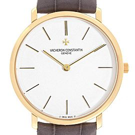 Vacheron Constantin Patrimony Yellow Gold Ultra Thin Mens Watch 31160