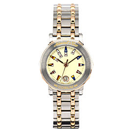 Corum Admirals Cup 39.130.24 V585 Stainless Steel and Gold Plated Quartz 26.5mm Womens Watch