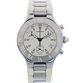 Cartier Chronoscaph 21 2424 39mm Womens Watch