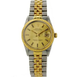 Rolex Date 15053 34mm Mens Vintage Watch