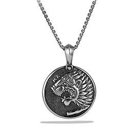 David Yurman Petrvs Lion Coin Amulet
