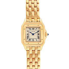 Cartier Panthere 18k Yellow Gold Ladies Watch W25022B9