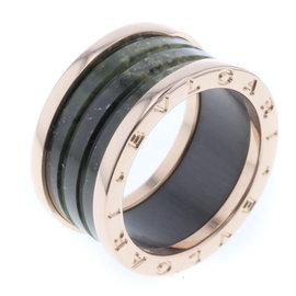Bulgari 18K Rose Gold Ring Size 8.25