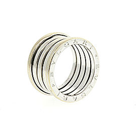Bulgari B Zero-1 18K White Gold Ring Size 8.5