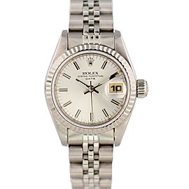Rolex Oyster Perpetual Datejust 69174 26mm Womens Watch