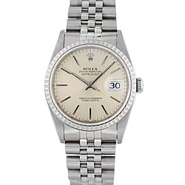 Rolex Oyster Perpetual Datejust 16220 36mm Mens Watch