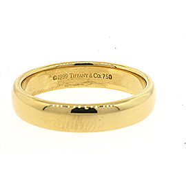 Tiffany & Co. Lucida 18K Yellow Gold Wedding Ring Size 8.75